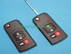 3+1 buttons key with blade for remote master wirel