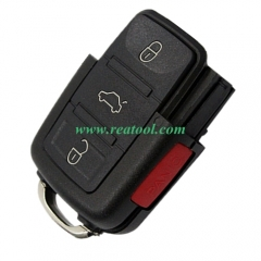 For VW 3+1 button remote blank