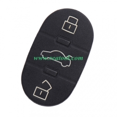 For Audi 3 button remtoe key pad