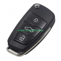 For Audi style DIY remote key shell