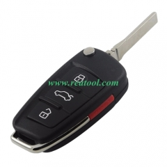 For Audi A6L 3+1 button  Remote key Blank