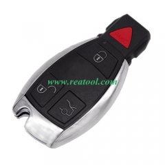For benz 3+1 button remote key blank with panic bu
