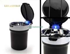 Car LED Ashtray Cigarette Ash Holder