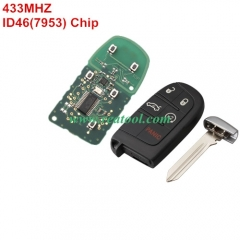 For Jeep keyless remote key with 434mhz with 7953