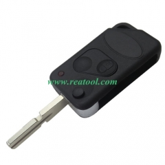 For landrover 2 button remote flip key blank