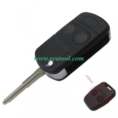 For Landrover 2 button flip remote key  blank (Can