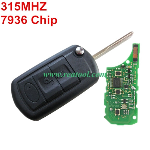 For Range Rover 3 button remote key  315mhz PCF7936 chip