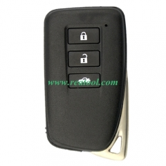 For Lexus 3 button modified remote key blank