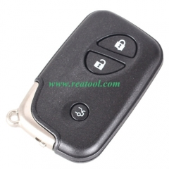 For Lexus 3 Button remote key blank with blade