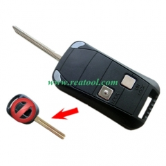 For Lexus 2 buttons Modified folding remote key bl