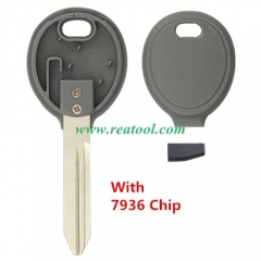 For Chry-sler Transponder Key (no logo) with 7936