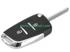 For modified Cit-roen replacement key shell with 2 button with VA2T blade