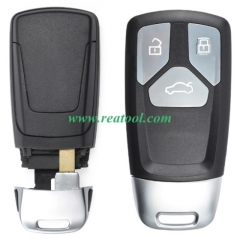 For original Au-di keyless 3 button remote key wit
