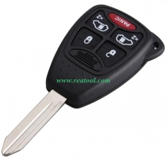 Chry-sler 4+1 buttons remote key with PCF7941 Chip  FCCID is OHT692427AA