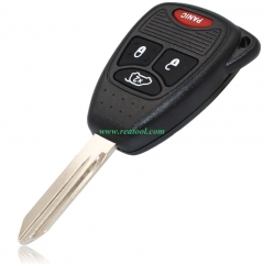 Chry-sler 3+1 buttons remote key with PCF7941 Chip