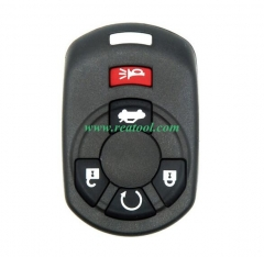 For Cadi-llac 4+1 button remote key blank with bat