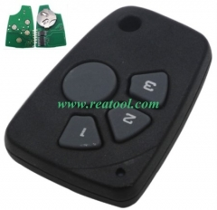 For Chevrolet 4 button remote key with 434mhz