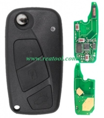 For Fiat Delphi BSI 3 button remote key With PCF79