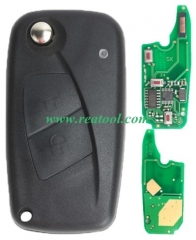 For Fiat Delphi BSI 2 button remote key With PCF79