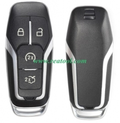 For Ford 4 button remote key shell with key blade