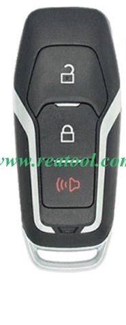 For Ford 2+1 button remote key shell with key blade